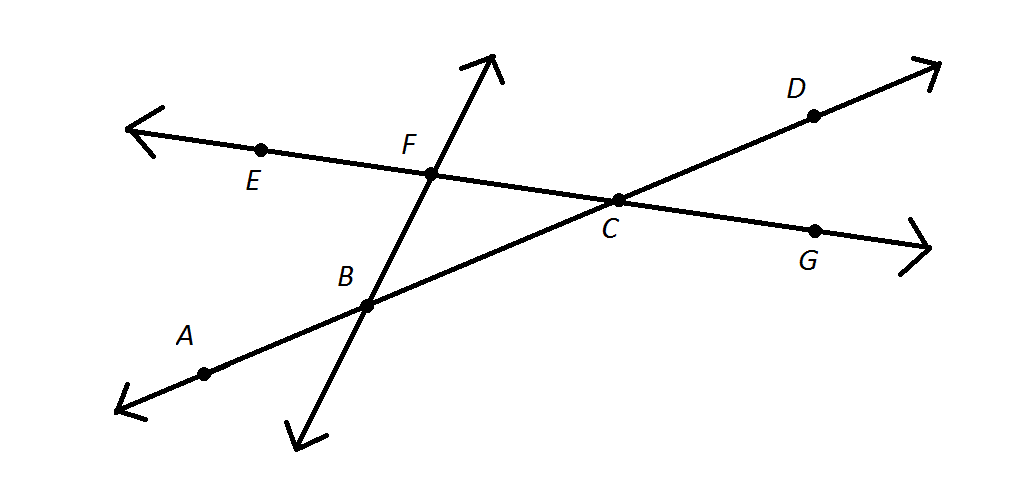 Geometry Lines And Angle Relationships Angle En Geometry Lines